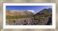 Mountains on a landscape, Atlas Mountains, Marrakesh, Morocco Fine Art Print