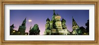 Low angle view of a cathedral, St. Basil's Cathedral, Red Square, Moscow, Russia Fine Art Print