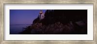 Bass Head Lighthouse, Bass Harbor, Mount Desert Island, Maine Fine Art Print