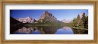 Swiftcurrent Lake,US Glacier National Park, Montana, USA Fine Art Print