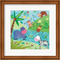 Jungle Friends I Fine Art Print