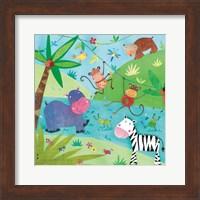 Jungle Friends I Fine Art Print