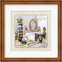 Lavender Scented Bath II Fine Art Print