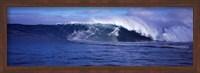Surfer in the ocean, Maui, Hawaii, USA Fine Art Print