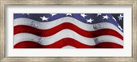Close-up of an American flag Fine Art Print