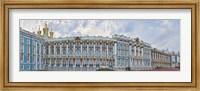 Catherine Palace courtyard, Tsarskoye Selo, St. Petersburg, Russia Fine Art Print