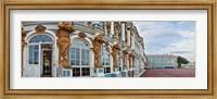Catherine Palace building details, St. Petersburg, Russia Fine Art Print