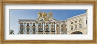Architectual detail of Catherine Palace, St. Petersburg, Russia Fine Art Print