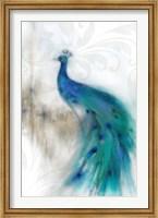 Jewel Plumes II Fine Art Print