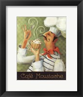 Cafe Moustache II Fine Art Print