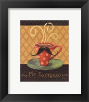 Cafe Moustache III Fine Art Print