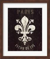 Refurbished Fleur de Lis Fine Art Print
