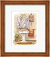Watercolor Bath in Spice I Fine Art Print