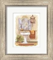 Watercolor Bath in Spice I Fine Art Print