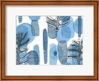 Mod Leaves II Fine Art Print