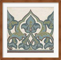Non-Embellished Persian Frieze I Fine Art Print
