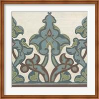 Non-Embellished Persian Frieze II Fine Art Print