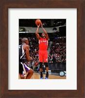 Chris Paul 2013-14 Action in basketball Fine Art Print
