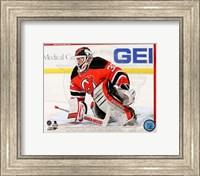 Martin Brodeur Hockey Goaltending Fine Art Print