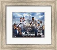 Detroit Tigers Cy Young Winners Portrait Plus Fine Art Print