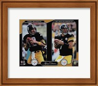 Terry Bradshaw & Ben Roethlisberger Legacy Collection Fine Art Print