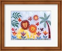 Happy Lions Fine Art Print
