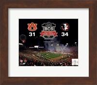 2014 BCS National Championship Florida State Seminoles vs. Auburn Tigers at the Rose Bowl Fine Art Print