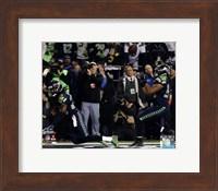 Malcolm Smith & Richard Sherman Game Winning Interception 2013 NFC Championship Game Fine Art Print