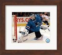 Antti Niemi Hockey Goaltending Fine Art Print