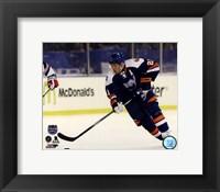Kyle Okposo 2014 NHL Stadium Series Action Fine Art Print
