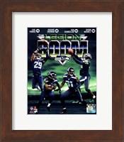 Seattle Seahawks The Legion of Boom Composite Fine Art Print