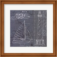 Coastal Blueprint III Fine Art Print