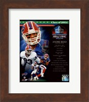 Andre Reed 2014 Hall of Fame Composite Fine Art Print