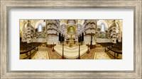 Interiors of the basilica, Notre Dame De La Garde, Marseille, Bouches-du-Rhone, Provence-Alpes-Cote D'Azur, France Fine Art Print