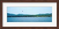 Parasailing on Lake George, New York State, USA Fine Art Print