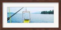 Lake George viewed from a steamboat, New York State, USA Fine Art Print