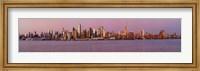 Midtown Manhattan Skyline at Dusk, New York City Fine Art Print