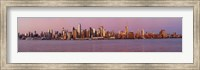 Midtown Manhattan Skyline at Dusk, New York City Fine Art Print