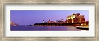 Buildings at the waterfront, Hoboken, Hudson County, New Jersey, USA 2013 Fine Art Print
