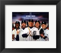 Detroit Tigers 2014 Team Composite Fine Art Print
