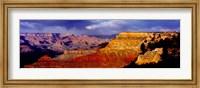Spectators at the Grand Canyon, Grand Canyon, Grand Canyon National Park, Arizona, USA Fine Art Print