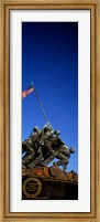 Iwo Jima Memorial at Arlington National Cemetery, Arlington, Virginia, USA Fine Art Print