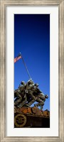 Iwo Jima Memorial at Arlington National Cemetery, Arlington, Virginia, USA Fine Art Print