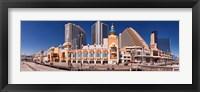 Trump's Taj Mahal Casino along the Boardwalk, Atlantic City, New Jersey, USA Fine Art Print