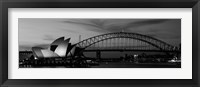 Australia, Sydney (black and white) Fine Art Print