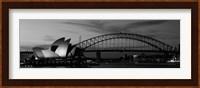 Australia, Sydney (black and white) Fine Art Print