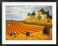 Village Harvest Fine Art Print