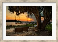 Savannah Sunset Fine Art Print
