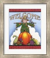 Scarecrow Welcome Fine Art Print
