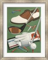 Golf Goodies Fine Art Print
